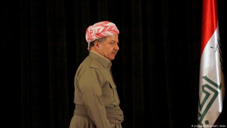 Former president of Iraqʹs autonomous Kurdish region, Massoud Barzani (photo: picture-alliance/AA)