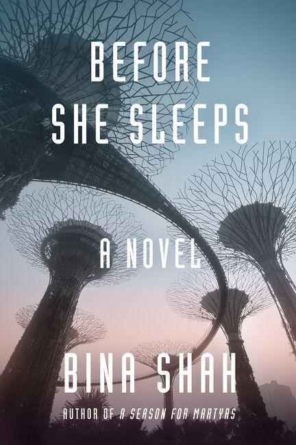 """Cover of Bina Shah's novel """"Before she sleeps"""" (source: Harper Collins)"""