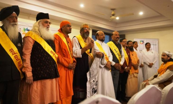 Delegates attend the United Religions Initiativeʹ interfaith seminar in Ajmer (photo: Marian Brehmer)