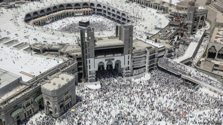 The Grand Mosque in Mecca (photo: Reuters)