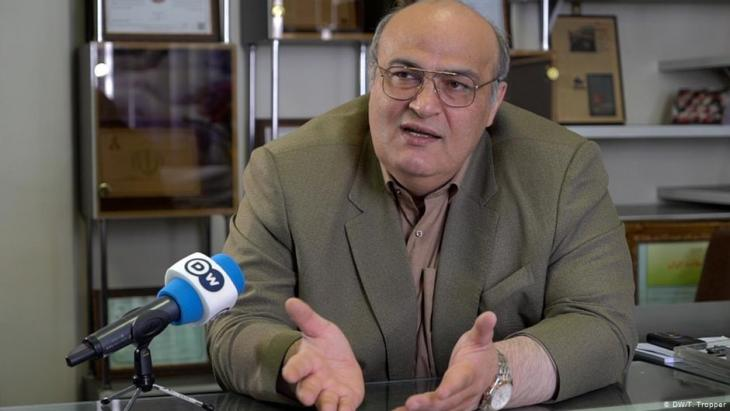 Siamak Morasadegh, Jewish member of the Iranian parliament (photo: DW)