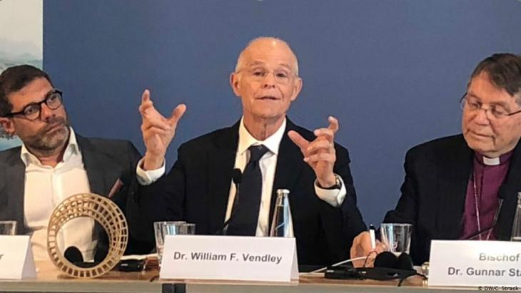 William F. Vendley, outgoing General Secretary of Religions for Peace (photo: DW/C. Strack)