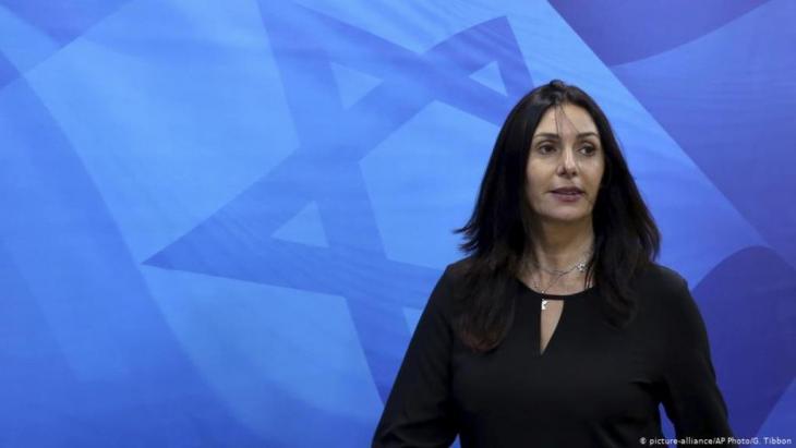 Israeli Culture Minister Miri Regev (photo: picture-alliance/AP Photo)