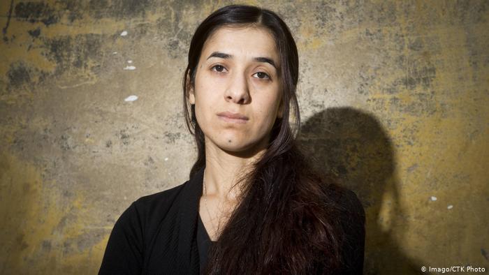 Victim turned Yazidi activist Nadia Murad (photo: Imago/CTK Photo)