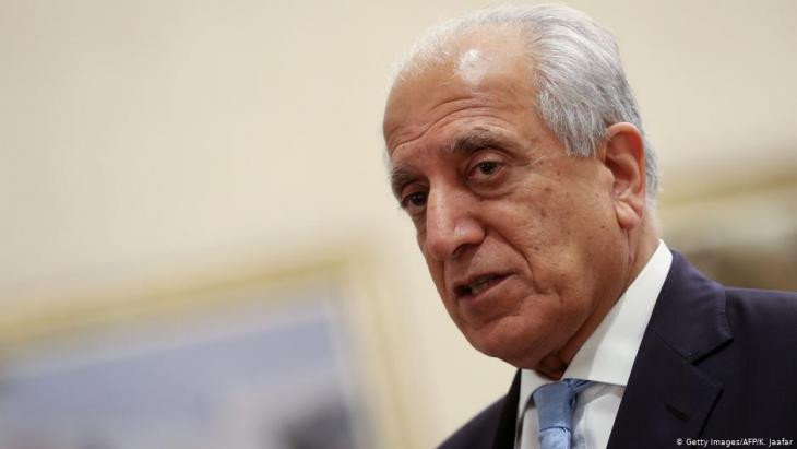 Zalmay Khalilzad, U.S. Special Envoy to Afghanistan (photo: Getty Images/AFP)