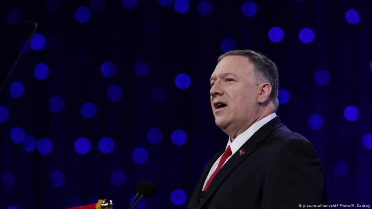 U.S. Secretary of State Mike Pompeo (photo: picture-alliance/AP)