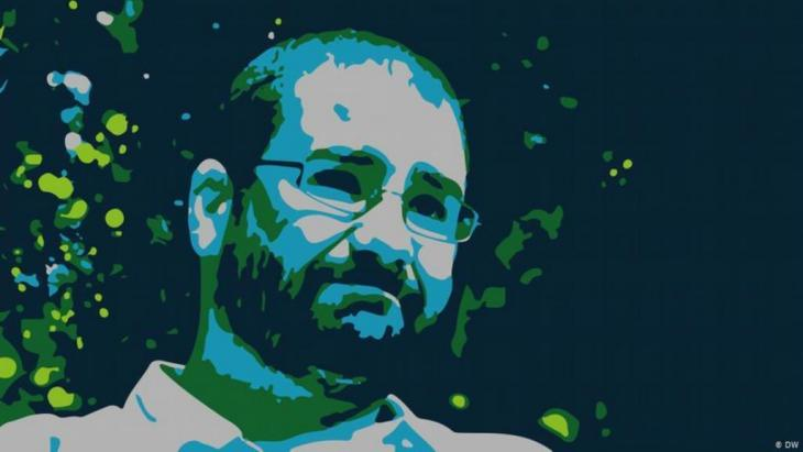 Egyptian blogger and activist Alaa Abdel Fattah (source: DW)