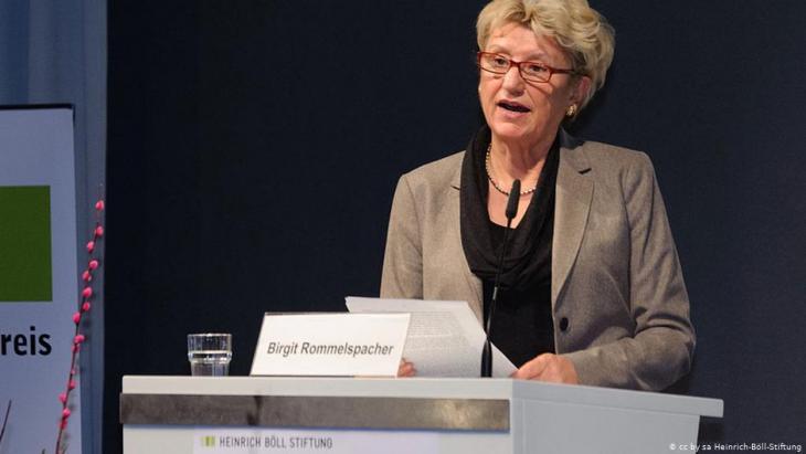 Psychologist and gender researcher Birgit Rommelspacher (photo: Heinrich Boll Stiftung)