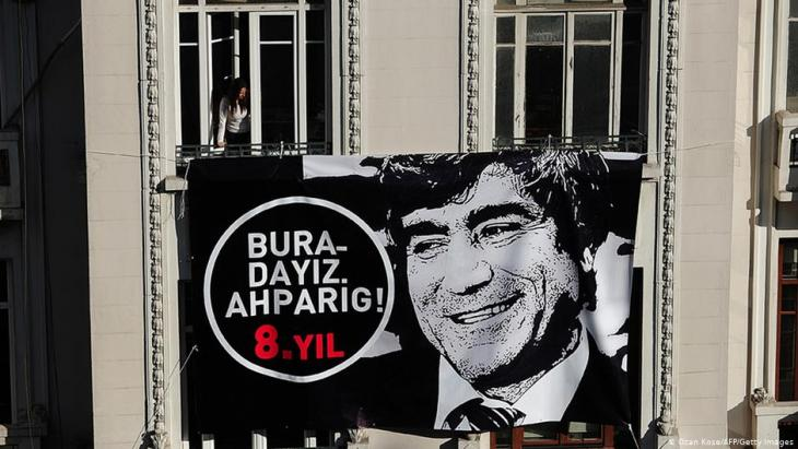 Remembering the murder of Agos journalist Hrant Dink (photo: AFP/Getty Images)