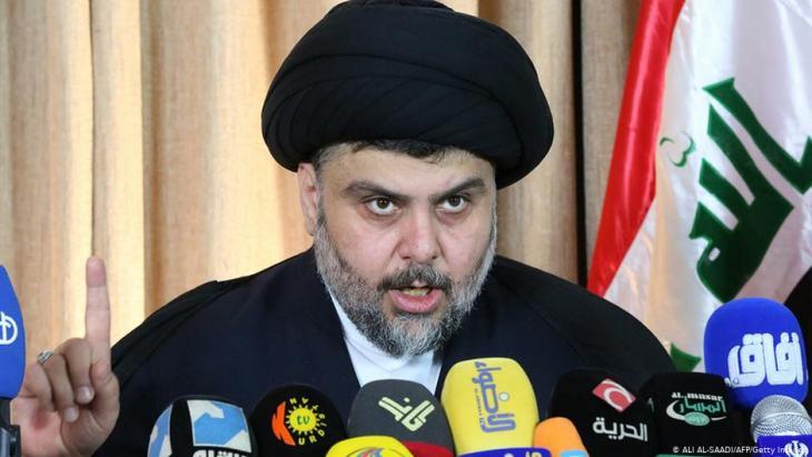 Iraqi Shia leader Muqtada al-Sadr (photo: AFP/Getty Images)