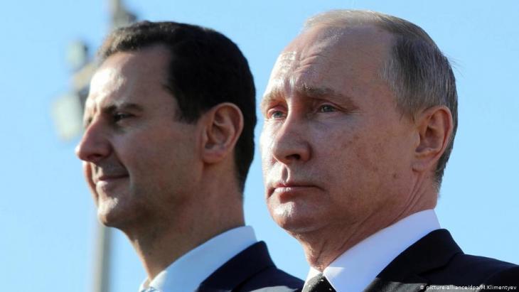 Assad and Putin (photo: picture-alliance)