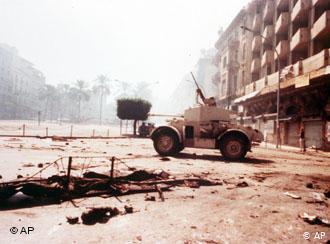 Civil war in Lebanon (photo: AP)