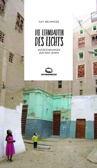 "Cover of Helminger's ""Die Lehmbauten des Lichts"" – Clay buildings of light – (published in German by capybarabooks)"