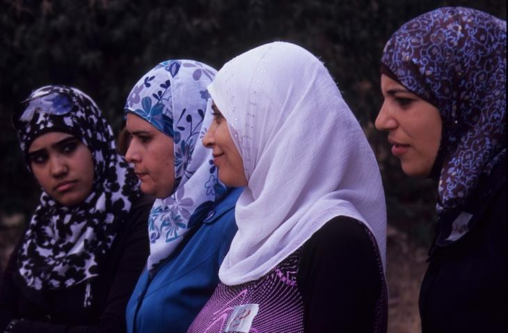Jordanian women in Dar Amneh (photo: Claudia Mende)
