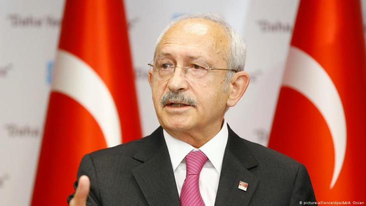 Chairman of the leading CHP opposition party, Kemal Kilicdaroglu (photo: picture-alliance/dpa)