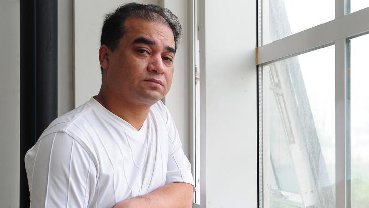 Imprisoned Uighur civil rights activist Ilham Tohti (photo: picture-alliance/AFP/dpa)