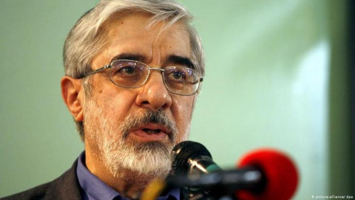 Politician and former presidential candidate Mir-Hossein Mousavi, under house arrest since 2017