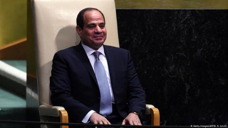Egypt's President Abdul Fattah al-Sisi (photo: Getty Images/AFP)
