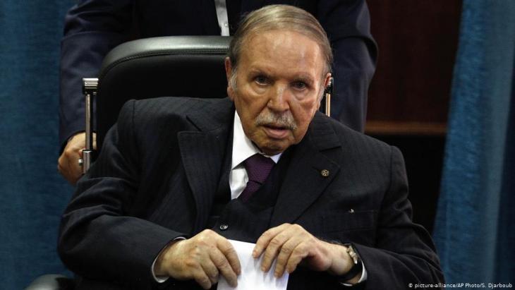 Algeria's former president Abdelaziz Bouteflika (photo: picture-alliance/AP)