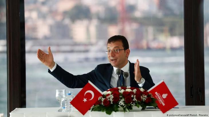 Turkish opposition politician Ekrem Imamoglu (photo: picture-alliance/AP)