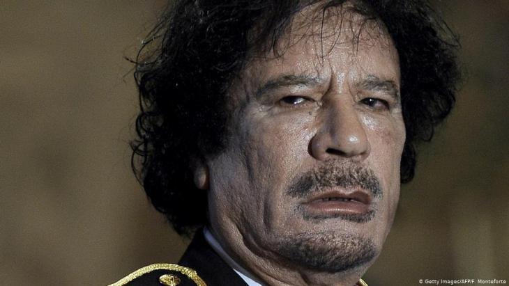 Libya's long-time dictator Muammar al-Gaddafi (photo: Getty Images/AFP)