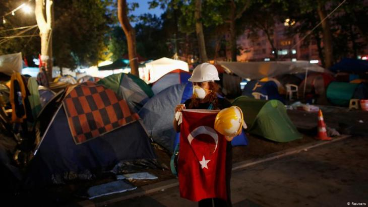 Gezi Park protests on 15 June 2013 in Istanbul (photo: Reuters)