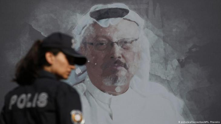 Jamal Khashoggi was murdered in the Saudi Arabian consulate in Istanbul, Turkey (photo: picture-alliance/dpa)