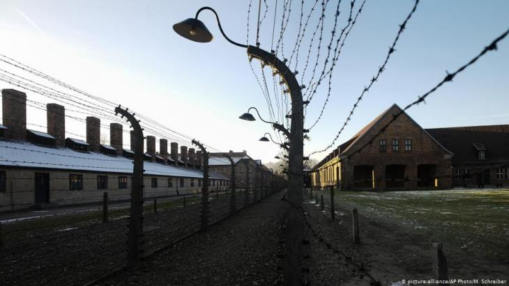Former concentration camp Auschwitz (photo: picture-alliance/AP)