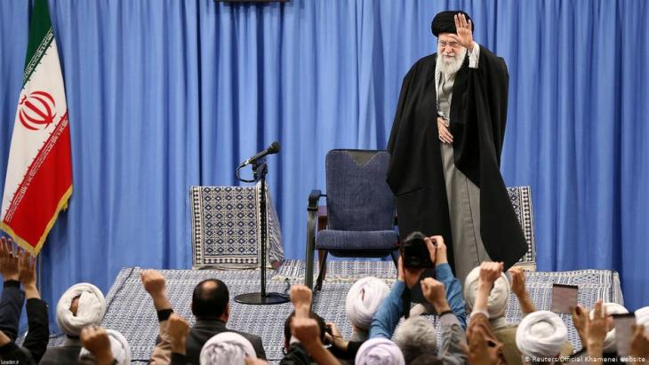 Iran's revolutionary leader Ali Khamanei (photo: Reuters)
