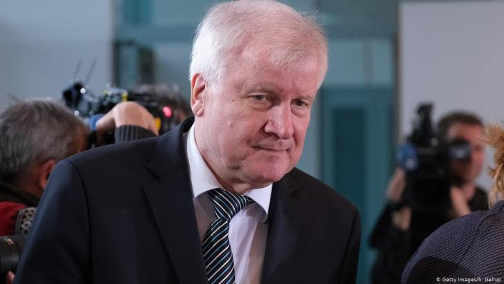 German Minister of the Interior Horst Seehofer (CSU) (photo: Getty Images/S. Gallup)
