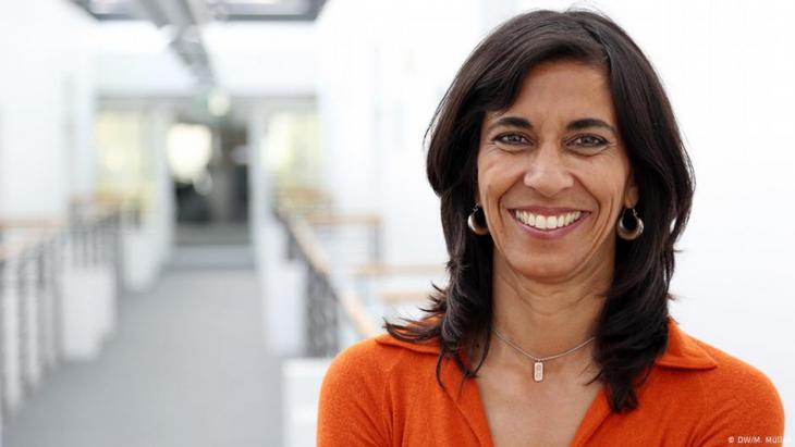 Sheila Mysorekar (photo: DW/M. Muller)