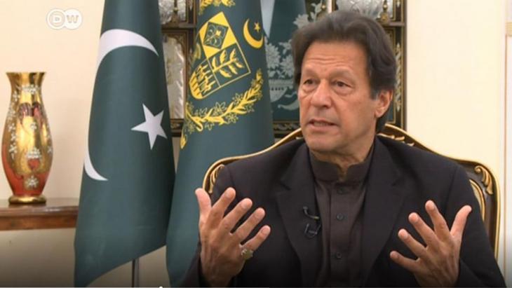 Pakistani Prime Minister Imran Khan (photo: DW)