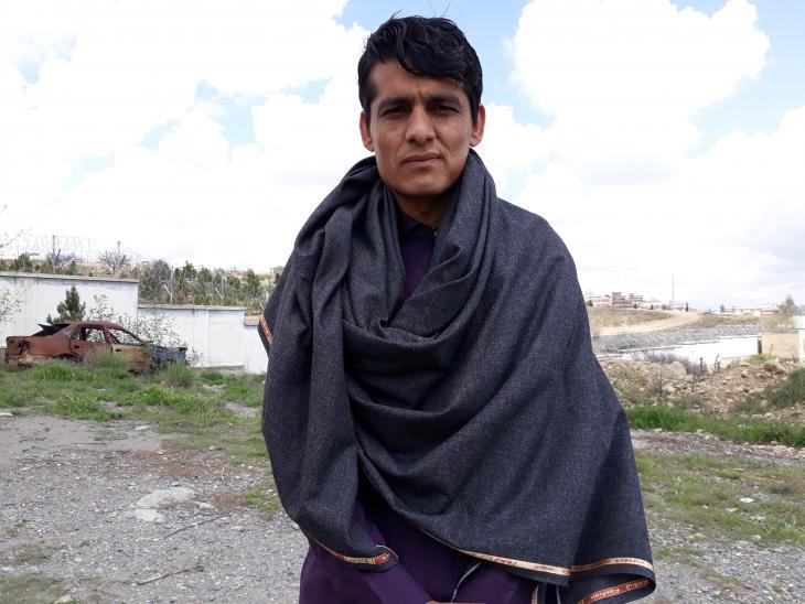 Shah Mohammad Takal (photo: Mohammad Zaman)