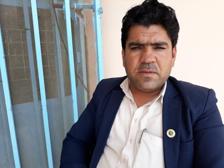 Sayed Qabil Shah Miakhel (photo: Mohammad Zaman)