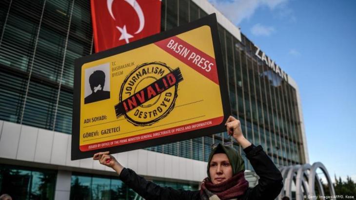 Press Freedom campaign in Turkey (photo: picture-alliance/Zuma Press)