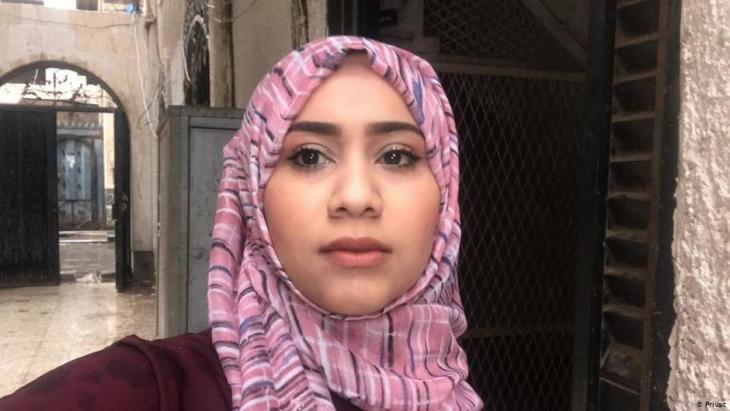 Amal Yarisi, journalist in Sanaa (photo: private)