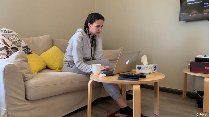 Deema Deeb Abu Dalo, architecture grad student in Amman (photo: private)
