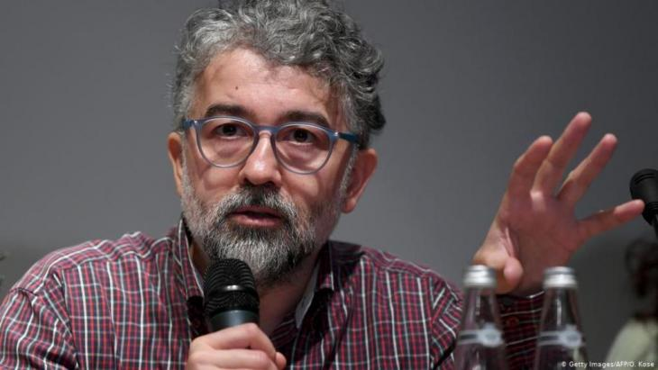 Turkish representative of Reporters Without Borders Erol Onderoglu (photo: Getty Images(AFP)