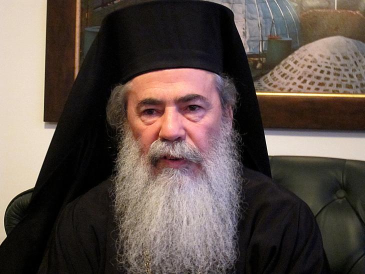 Greek Orthodox Patriarch Theophilos III (photo: Claudia Mende)