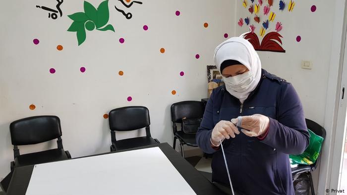 Sanaa, NGO worker in Idlib (photo: private)