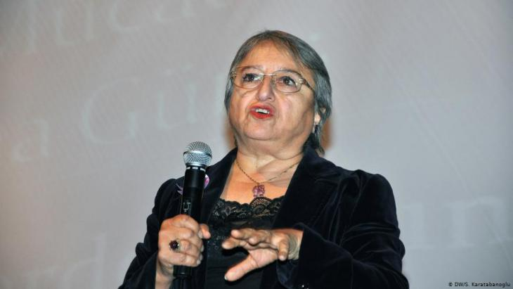 Canan Arin, founder of an association for the protection of women (photo: DW)