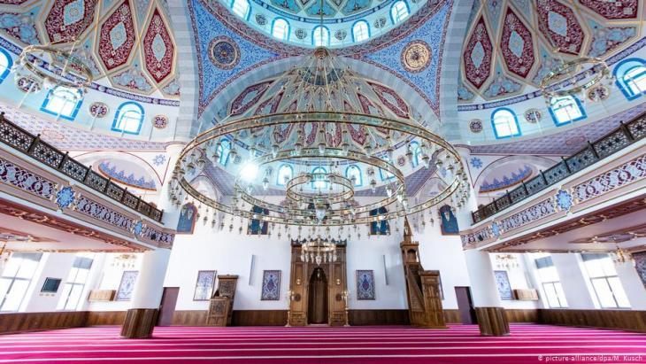 Dei DITIB-Merkez-Moschee in Duisburg; Foto: dpa/picture-alliance
