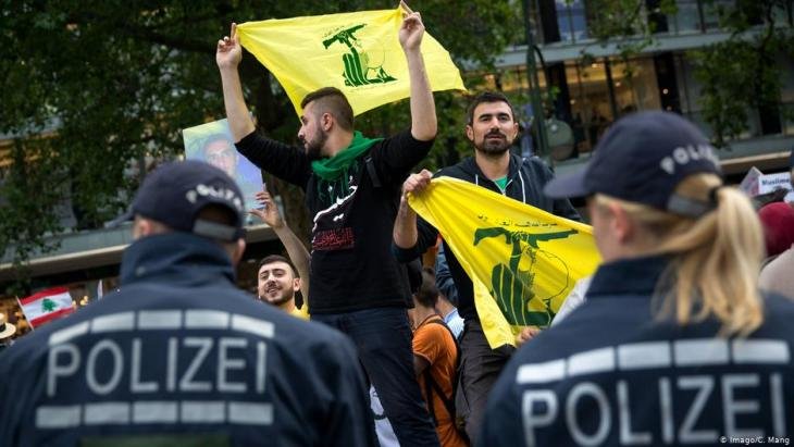 Hezbollah supporters in Germany (photo: Imago/C. Mang)