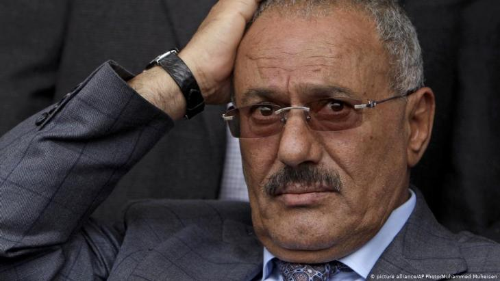 Yemen's former President Ali Abdullah Saleh (photo: picture-alliance/AP)