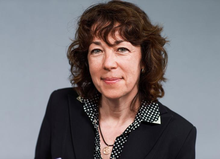 Susanne Brunner, Middle East correspondent for Swiss national radio and television (source: SRF)