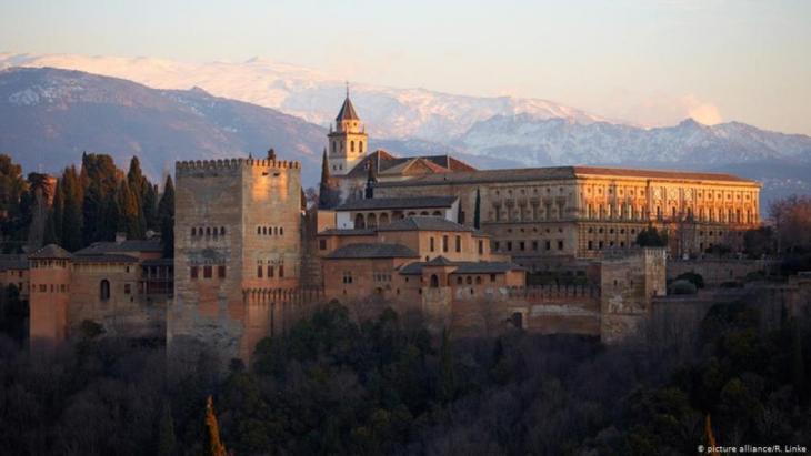 Monument to a tolerant Islam – the Alhambra in Granada, Spain (photo: picture-alliance/R. Linke)