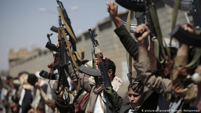 Houthi rebels mobilise in Sanaa, Yemen (photo: picture-alliance/AP Photo/H. Mohammed)