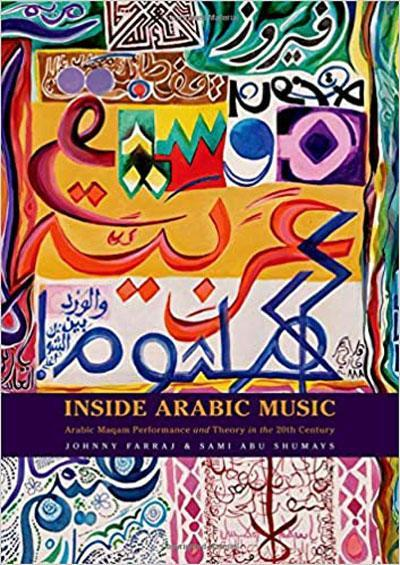 "Cover of Johnny Farraj and Sami Abu Shumays' ""Inside Arab music: Arabic maqam performance and theory in the 20th century"""