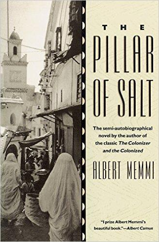 "Cover of Albert Memmi's ""The Pillar of Salt"" (published by Beacon Press)"