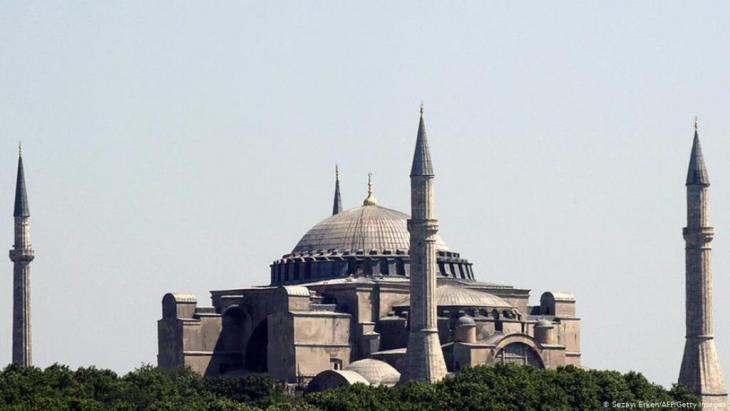 A Turkish mosque (photo: Getty Images/AFP/ S. Erkan)